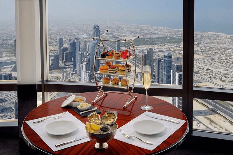 At.Mosphere Dubai - Minimum Spend & Afternoon Tea   2019
